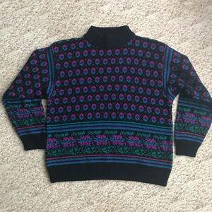 80s/90s Retro Pattern Sweater | 1X